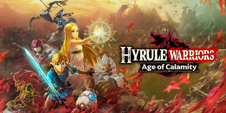 Nintendo представила экшен Hyrule Warriors: Age of Calamity  ответвление TLoZ: Breath of the Wild