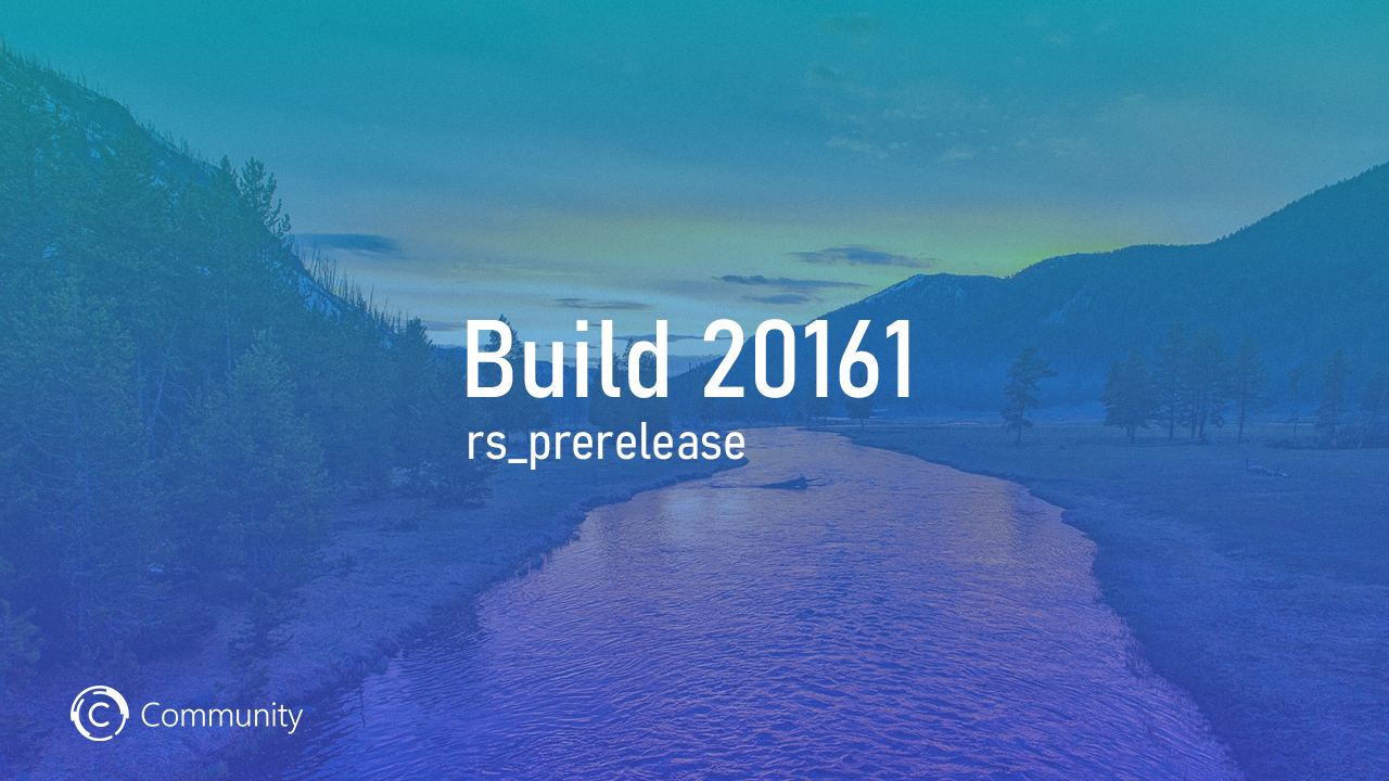 Анонс Windows 10 Insider Preview Build 20161 (канал Dev)