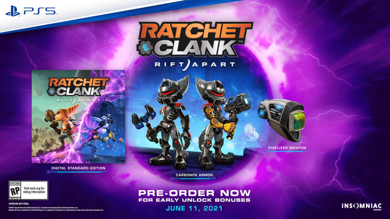 Ratchet and Clank: Rift Apart выйдет 11 июня на PlayStation 5