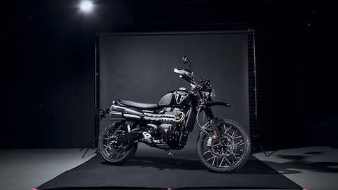 Триумф Бонда // Triumph Scrambler Bond Edition
