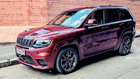 Jeep Grand Cherokee SRT // Москва, октябрь 2020