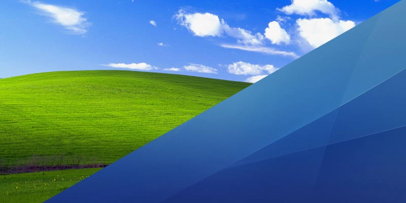 В Windows XP найдены фрагменты Mac OS X