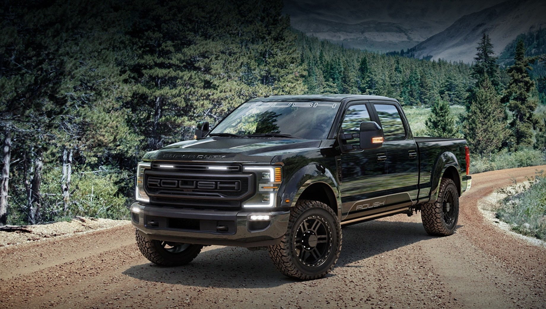 Roush предложил кит для пикапов Ford Super Duty