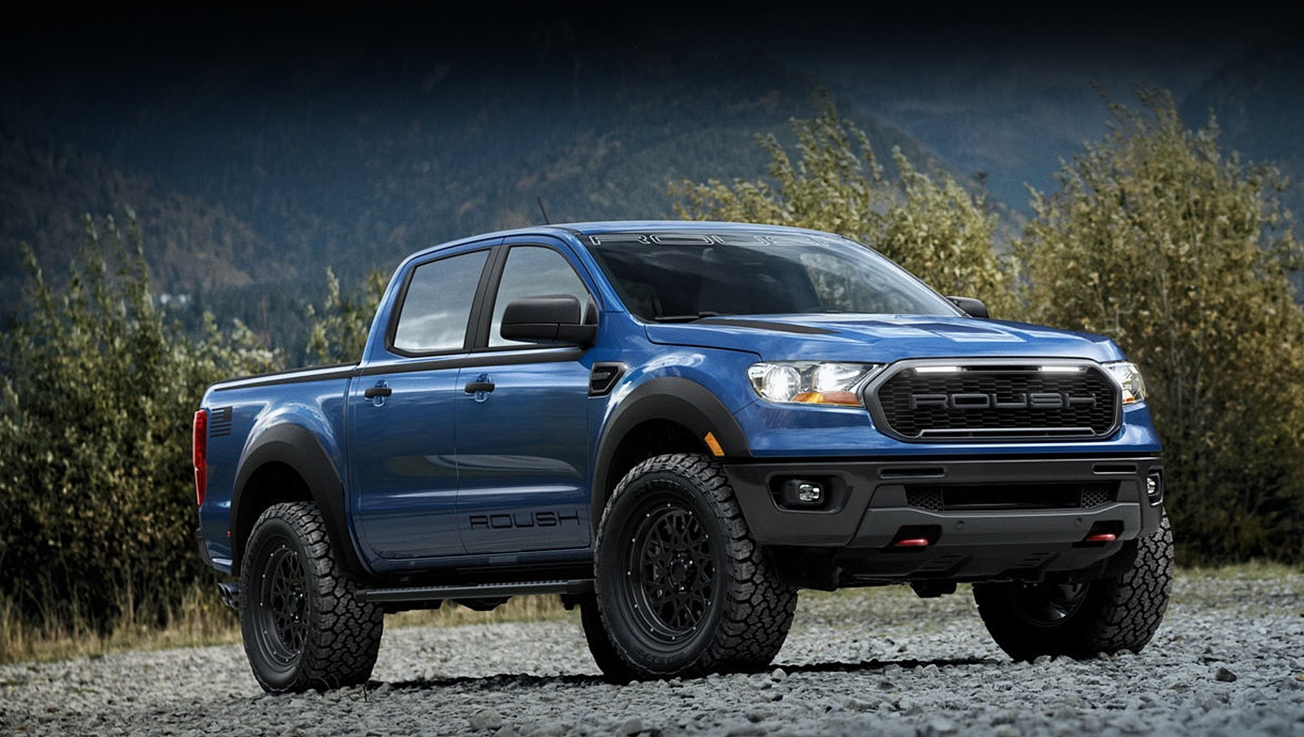 Roush пофантазировал на тему модели Ford Ranger Raptor