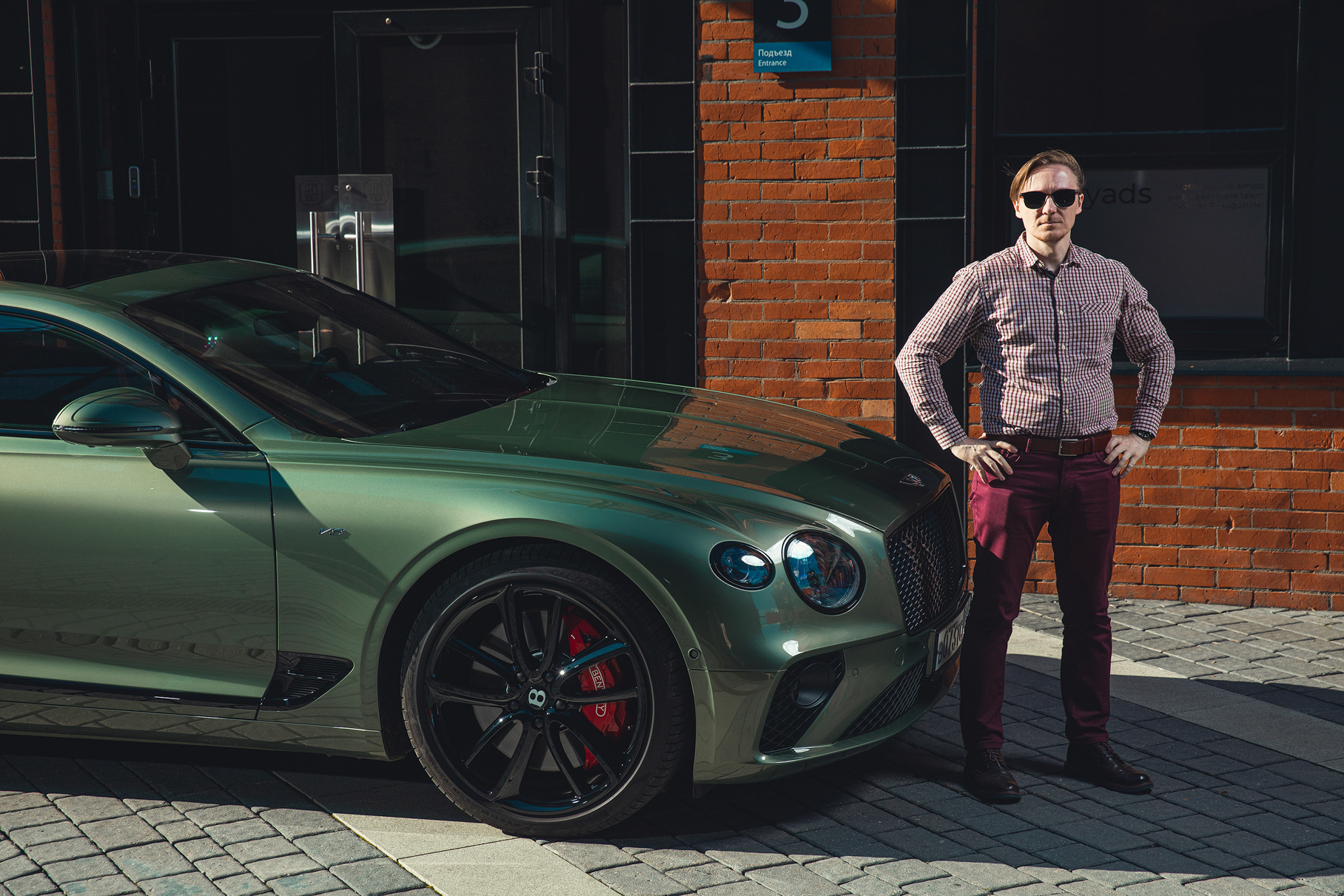 Обсуждаем Bentley Continental GT V8